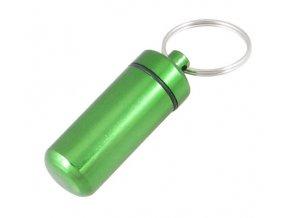 Hliníková kapsle - zelená